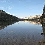 See am Tioga-Pass in der Nähe des Yosemite-Nationalparks, USA