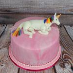 Einhorn-Torte