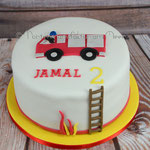 Eine Feuerwehrtorte für Jamal