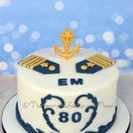 Zum 80. Geburtstag für einen ehem. Marineoffizier