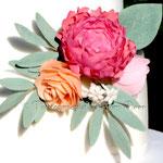 Pfingstrose, Rose und Ranunkel
