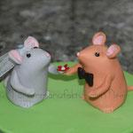 Mäusebrautpaar