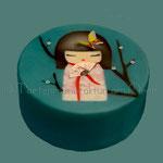 Kokeshi-Torte