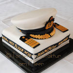 Offiziersmütze, Dienstgradabzeichen, Marinedienststellen