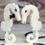 Seepferdchen-Brautpaar