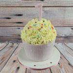 Riesen-Cupcake