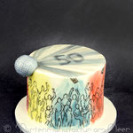 Party - wenigstens auf der Torte