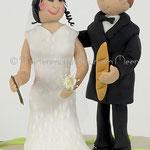 Personalisiertes Brautpaar