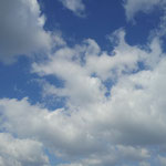 空は高く広く気持ちよかった