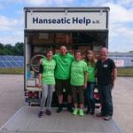 unsere Unterstützung für den Transport von Hanseatic Help :)