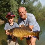 Christian Hinterndorfer + Sohn, Juli 2011,68cm,4,78kg (Teich)