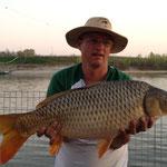 Markus Leimhofer, 11 kg und 82 cm Karpfen