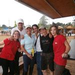 El equipo de la Escuela del Caballo con la organisación de la Equifira