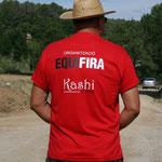Una organisación estupenda en la Equifira con nuestros amigos Kashi Arabs como sponsor