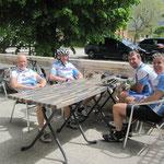 Pause déjeuner à Saint Jean d'Arvey