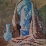 S/T. Óleo (espátula) sobre tablex. 1969-72
