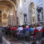Messe mit Robert Brahm in St. Johann im Lateran