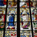Parte della finesta dei tre Magi