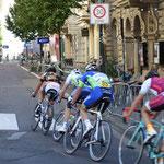 La gara ciciclista si svolge giugno