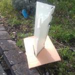 Verbisschutz mit Pappe gegen Unkraut