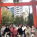 福徳神社にて参拝 近くに神社があれば必ず立ち寄ってしまう私たち^0^