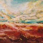 Landschaft Nr. 1 100 cm x 70 cm | © Andrea Back