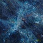 Blau Nr. 1 50 cm x 50 cm | © Andrea Back