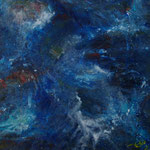 Blau Nr. 2 50 cm x 50 cm | © Andrea Back