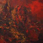 Rot Nr. 3 50 cm x 70 cm | © Andrea Back