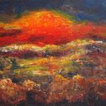 Sonnenaufgang 60 cm x 50 cm | © Andrea Back