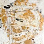 Golden Egg 50 cm x 70 cm| © Andrea Back