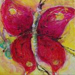 Schmetterlingsprinzessin 50 cm x 50 cm | © Andrea Back
