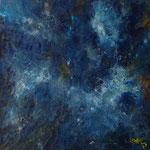 Blau Nr. 4 50 cm x 50 cm | © Andrea Back
