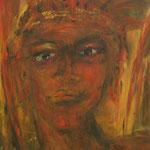 Indianer 50 cm x 70 cm | © Andrea Back