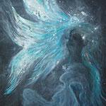 Flügelwesen 60 cm x 80 cm | © Andrea Back