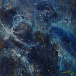 Blau Nr. 3 50 cm x 50 cm | © Andrea Back