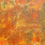 Abstrakt rot gold 80 cm x 60 cm | © Andrea Back