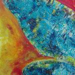 Flügel Nr. 2 50 cm x 60 cm | Acryl auf Leinwand | © Andrea Back