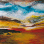 Landschaft Nr. 2  100 cm x 70 cm | © Andrea Back
