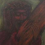 Jesus 60 cm x 60 cm | © Andrea Back
