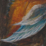 Flügel Nr. 1 | Acryl auf Leinwand | © Andrea Back