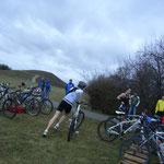 Schneller Wechsel auf die Radstrecke