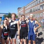 v.li.: Rebecca, Martin, Kaija, Johannes