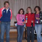 Sabine, Sandi & Karin gewannen die Damenwertung zum dritten Mal