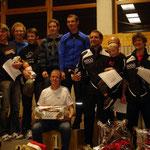 1.Platz: SV Reinstetten (1:02:42), 2.Platz: TV Memmingen (1:02:48), 3.Platz: SVO Germaringen (1:04:28)