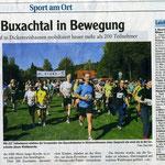 Buxachtallauf der Triathlonabteilung 03.10.