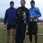 Sieger Martin (59:06), Markus Gebele (1:00:00), Lauxtermann Frank (1:01:01)