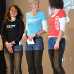 TV Memmingen (v.li. Sandi, Gerti, Sabine) belegen Platz 1 als Damen-Team