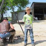 Wenn ich gross bin, werde ich auch mal Cowboy :-)