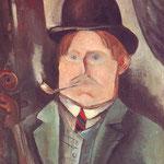 Portrait de l'artiste (à la pipe)